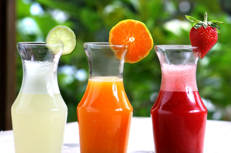 bebidas naturales